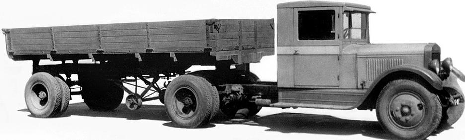 Седельный тягач ЗиС-10