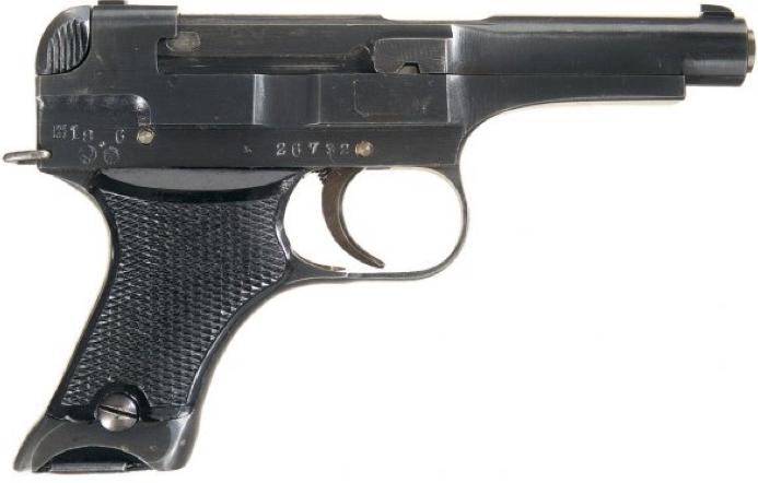 Пистолет Nambu Туре 94