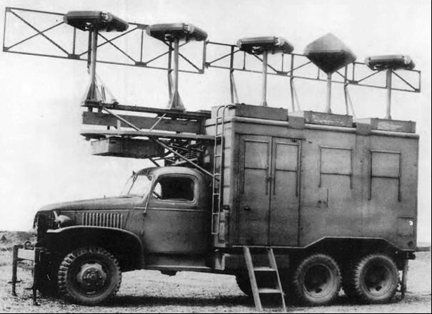 Мобильная РЛС AN/MRN-1 в фургоне К-53