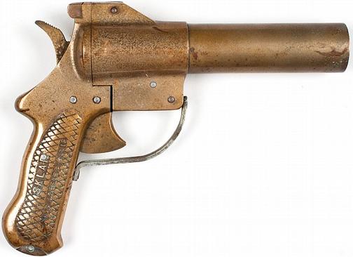 Сигнальный пистолет Brass sklar flare pistol