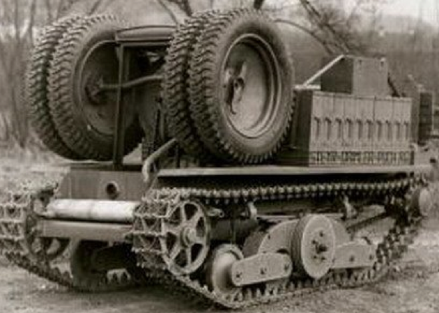 Легкий тягач  Austro-Daimler ADMК