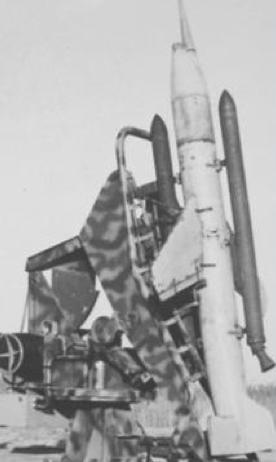 Радиоуправляемый ракетный снаряд Schmetterling Hs-117