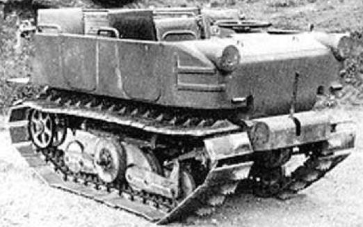 Легкий тягач  Austro-Daimler WARK