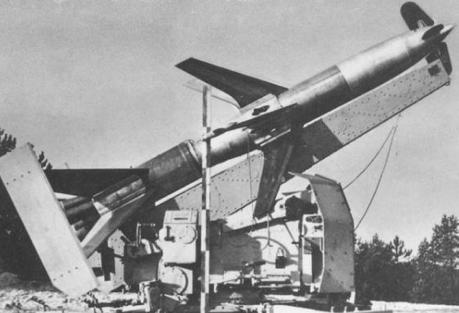 Зенитная управляемая ракета Rheintöchter R-1