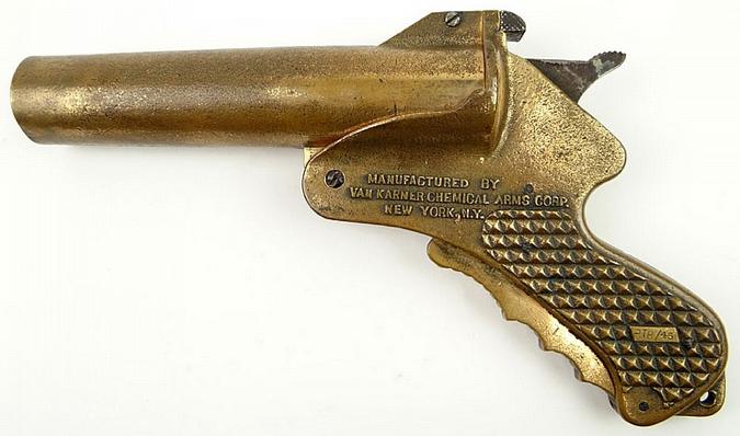 Сигнальный пистолет VK-M12 Brass Parachute Signal Gun