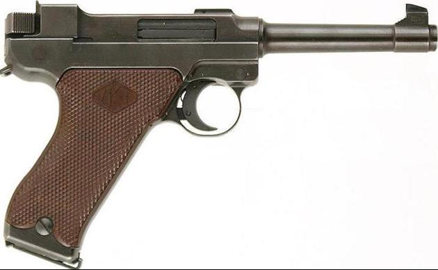 Пистолет Lahti L-35