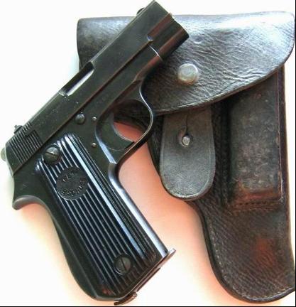 Пистолет  Unique mod.17