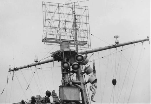 Антенна корабельной РЛС CXAM-1