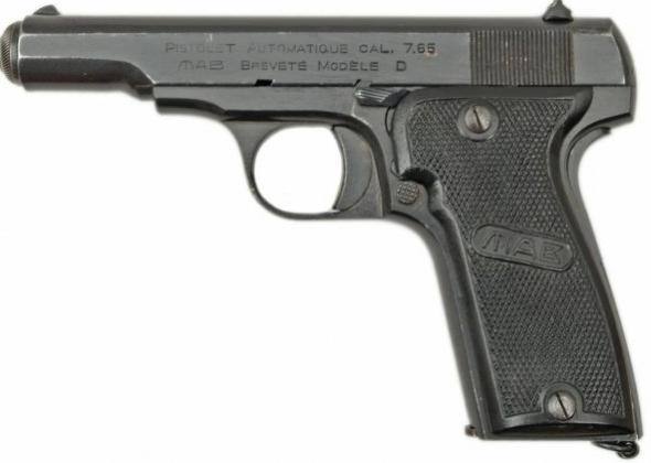 Пистолет MAB-D