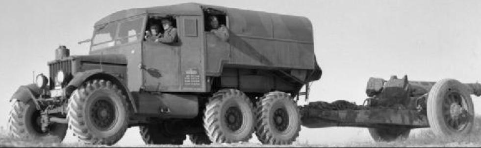 Колесный тягач Scammell Pioneer R-100