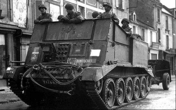 Гусеничный артиллерийский тягач Crusader II Gun Tractor Mk-I