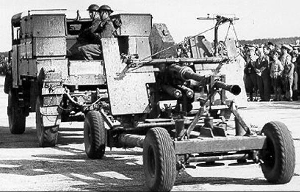 Артиллерийский тягач Bedford QLВ