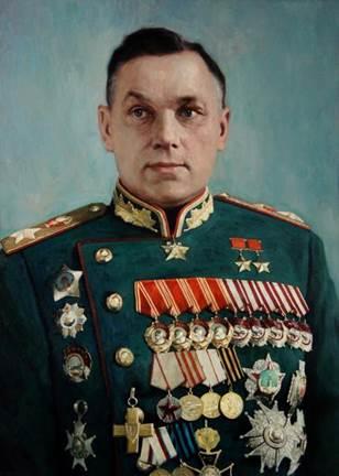 Командующий 2-м Белорусским фронтом Рокоссовский К.К. (30.03.1945) - за освобождение Польши.