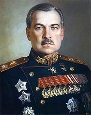 Командующий Ленинградским фронтом Говоров Л.А. (31.05.1945) - за освобождение Прибалтики.