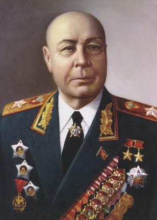 Представитель Ставки Верховного Главнокомандующего Тимошенко С.К. (04.06.1945) - за планирование боевых операций и координацию действий фронтов в течение всей войны.