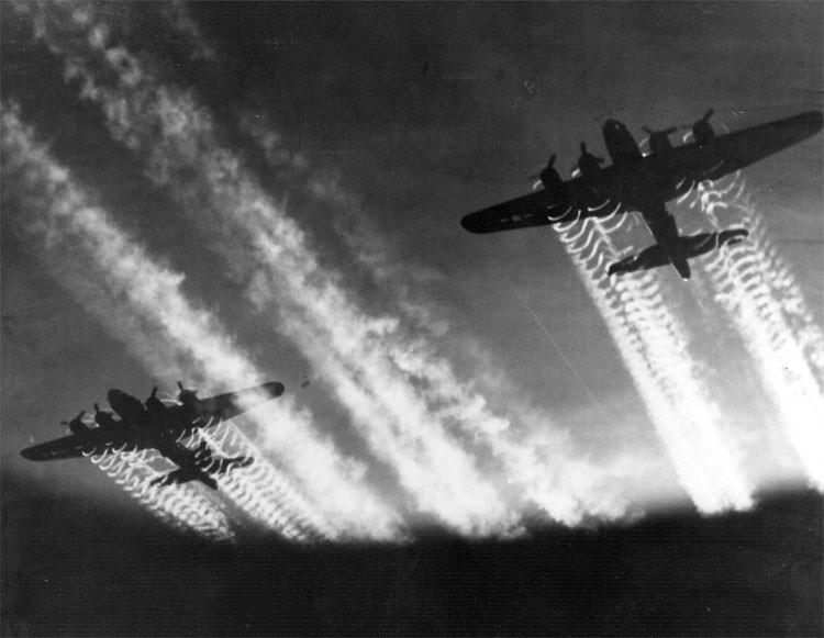 Бомбардировщики союзников над Дрезденом
