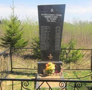 д. Дмитровичи Березинского р-на. Братские могилы