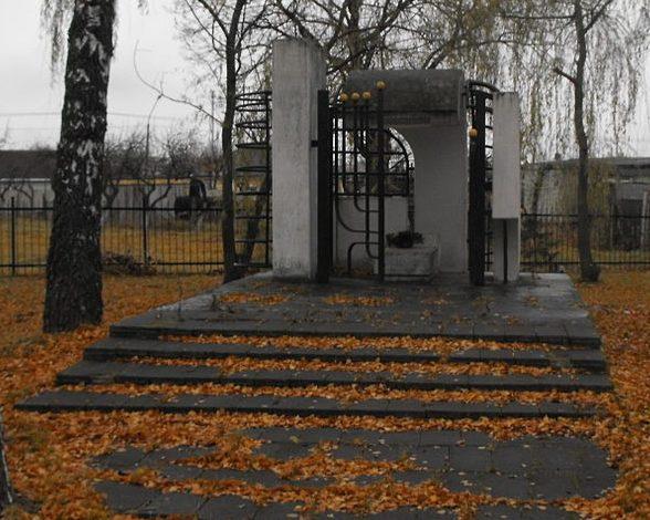 г. Барановичи. Сквер и мемориал в память евреев, убитых нацистами, на еврейском кладбище.