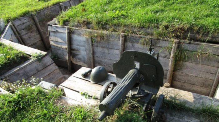 Полевые укрепления. Комплекс «Старая граница».