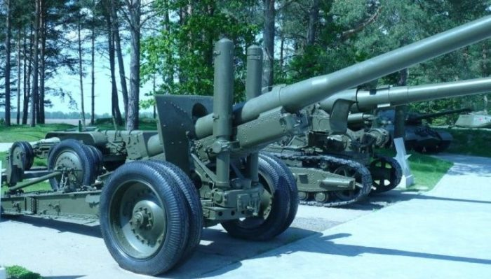 Артиллерийские орудия. Комплекс «Старая граница».