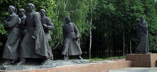 г. Жодино. Монумент в честь матери-патриотки