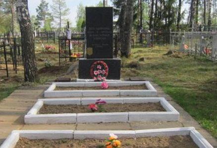 д. Жорновка Березинского р-на. Братские могилы