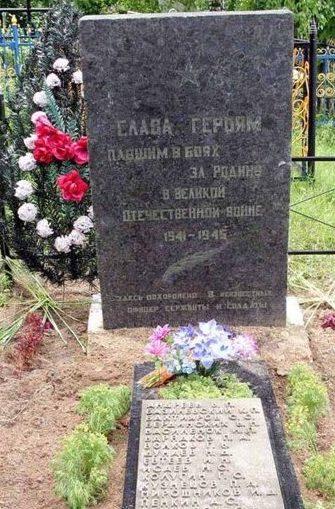 п. Слобода Жодинского р-на. Братская могила