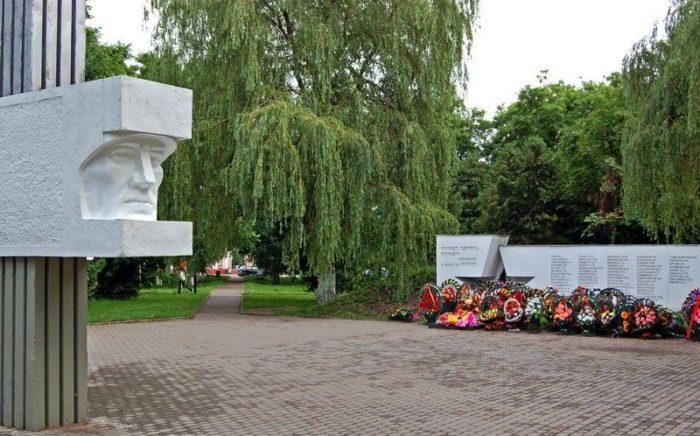 г. Клецк. Мемориальный комплекс советским воинам, партизанам и землякам