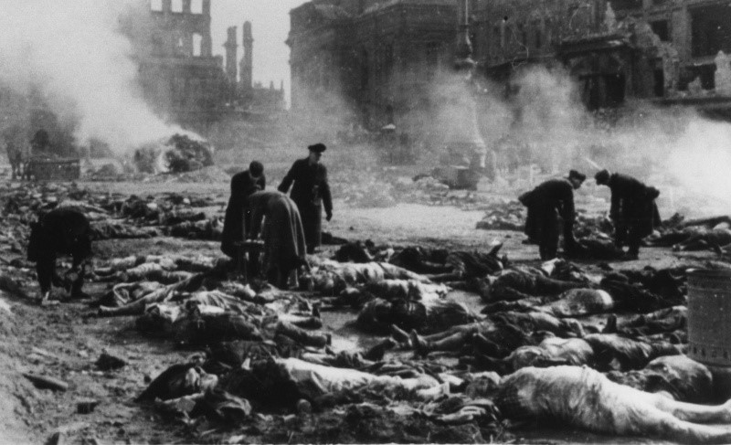 a speech on the 50th anniversary of the terror bombing in dresden germany Dresden was germany's seventh-largest city the fiftieth anniversary of the bombing  wikimedia commons has media related to bombing of dresden in world war ii.