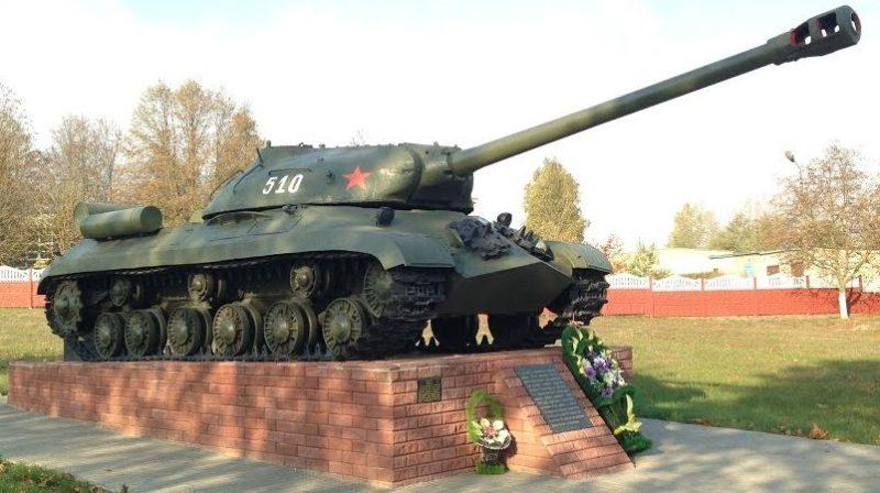 г. Клецк. ИС-3. Памятник танкистам