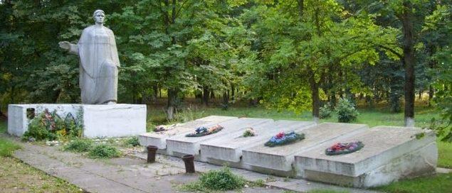 д. Великая Раёвка Копыльского р-на. Братская могил
