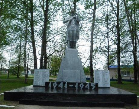 д. Лешница Березинского р-на. Памятник погибшим землякам