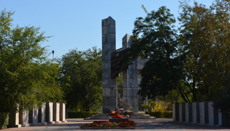 г. Ахтубинск. Мемориальный комплекс, погибшим землякам в годы войны