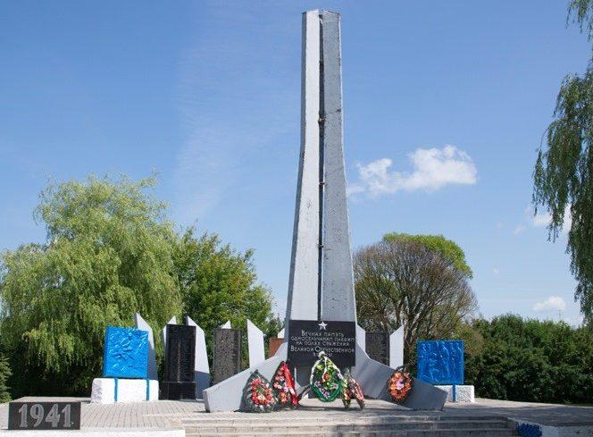 д. Тимковичи Копыльского р-на. Памятник погибшим землякам