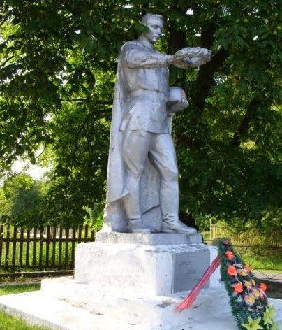 д. Тимковичи Копыльского р-на. Братская могила советских воинов-пограничников