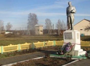 д. Осовец Любанского р-на. Памятник односельчанам