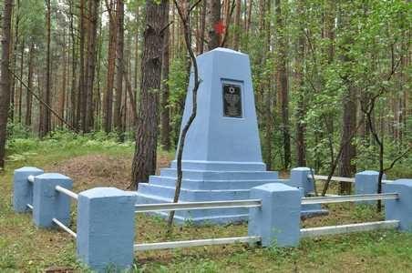 п. Уречье Любанксого р-на. Памятники погибшим евреям