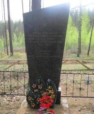 д. Старые Гумны Березинского р-на. Братская могила