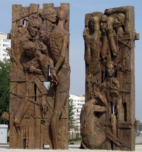 г. Минск. Новый памятник 2014 г.