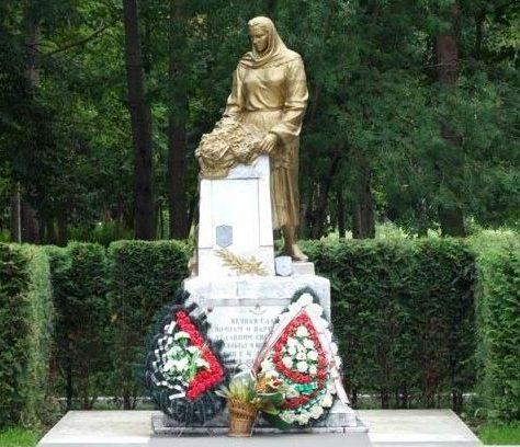 г. Минск. Мемориал погибшим советским воинам и партизанам