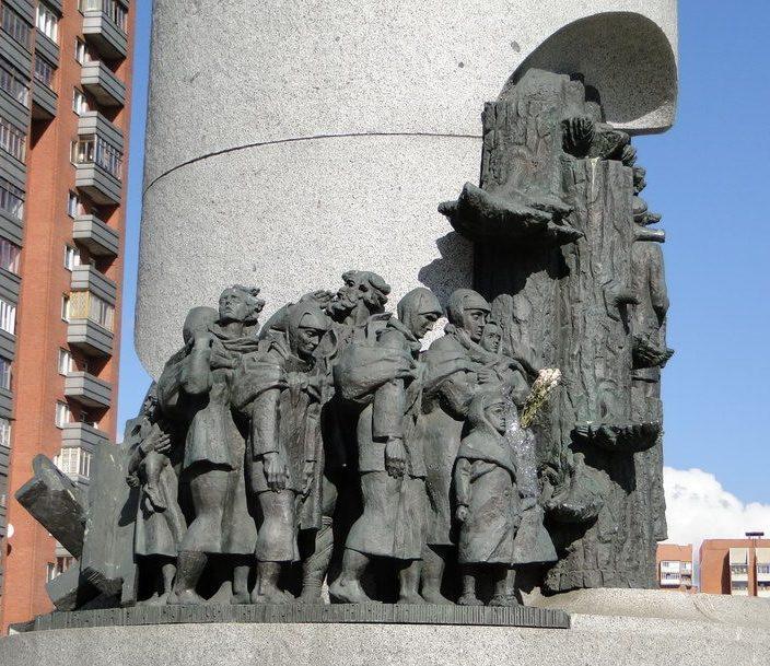 г. Минск. Памятник «Беларусь партизанская»