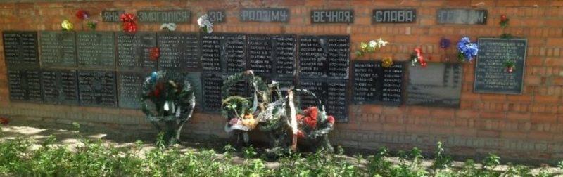 г. Молодечно. Мемориал «Стена Памяти»
