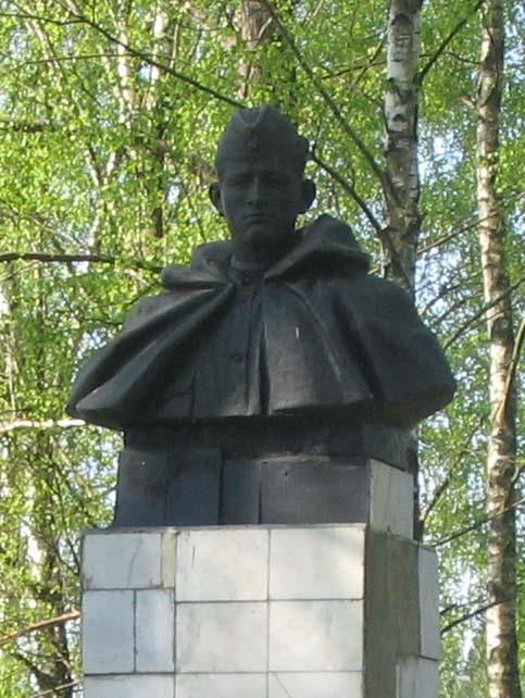д. Чижаха Березинского р-на. Памятник погибшим землякам