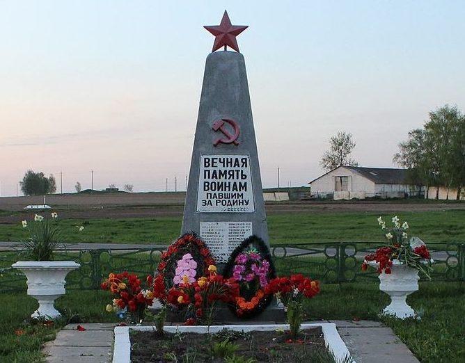 д. Блонь Пуховичского р-на. Братская могила