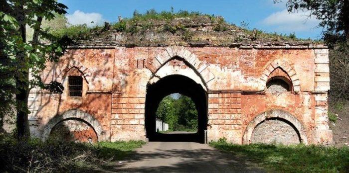 г. Брест. Здание крепости. Южные ворота