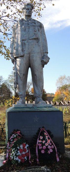 д. Жилин Брод Слуцкого р-на. Памятник партизанам