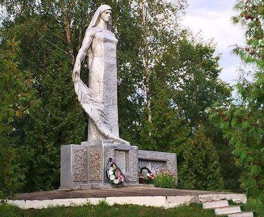 д. Переходы Слуцкого р-на. Памятник сожженным деревням