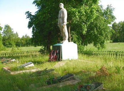 д. Поликарповка Слуцкого р-на. Памятник погибшим партизанам
