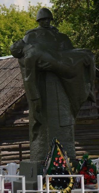 д. Погост Солигорского р-на. Памятник освободителям