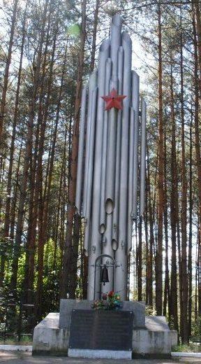 Урочище Кошарка Стародожского р-на. Памятник «Жертва фашизма